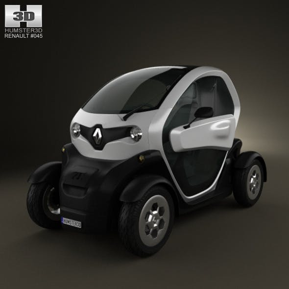 Renault Twizy 2012 - 3DOcean Item for Sale