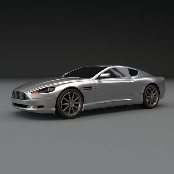 Aston martin db9 coupe car