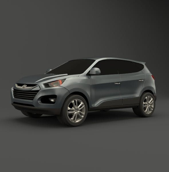 Hyundai SUV vehicle redesigned - 3DOcean Item for Sale