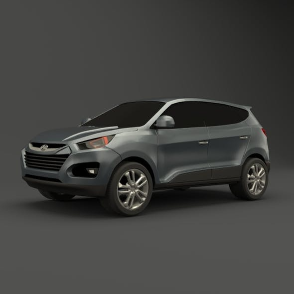 Hyundai SUV vehicle redesigned