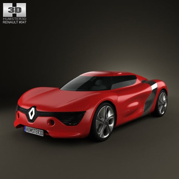 Renault DeZir 2010 - 3DOcean Item for Sale