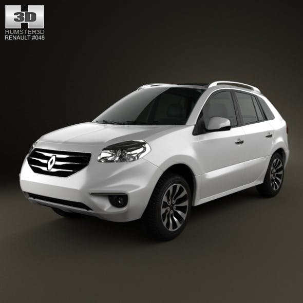 Renault Koleos 2012 - 3DOcean Item for Sale