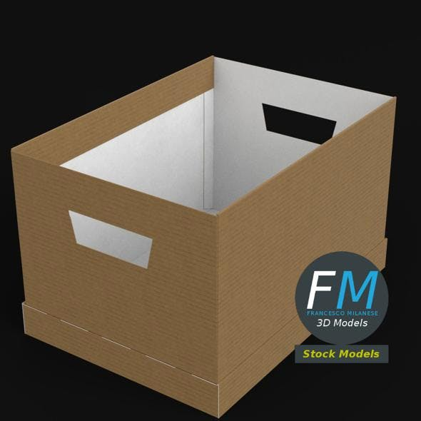 Office cardboard box