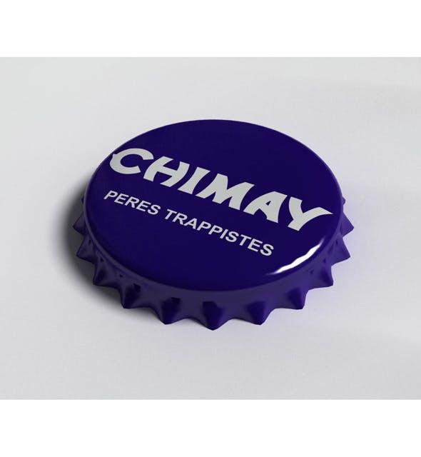 Chimay Bottle Tin Cap - 3DOcean Item for Sale