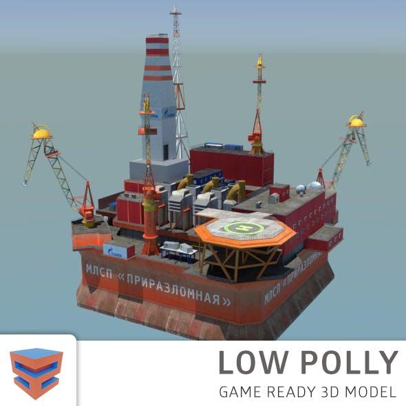 Oil Platform Prirazlomnaya