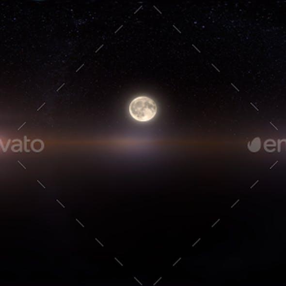 HDRI Skydomes - Fantasy Moon 1