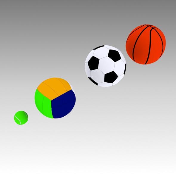 3D Sport Balls
