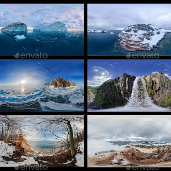 Environment Panoramas PACK #4 - Antarctica