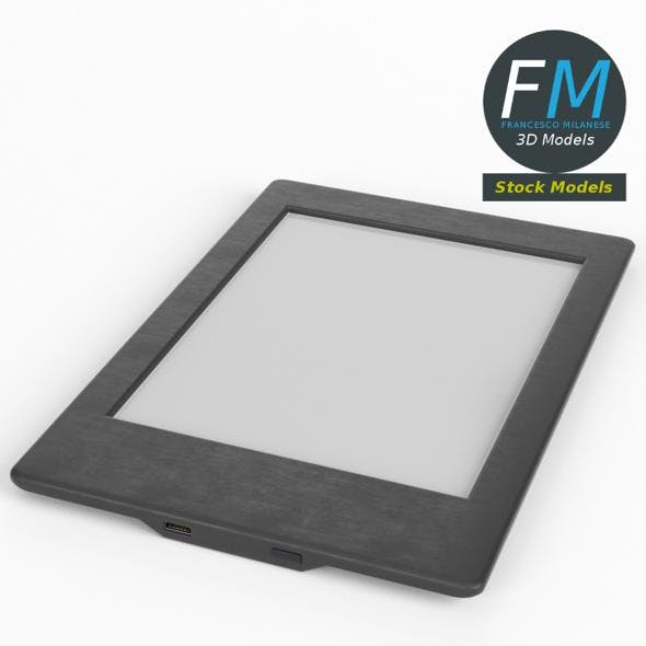 eBook reader - 3DOcean Item for Sale