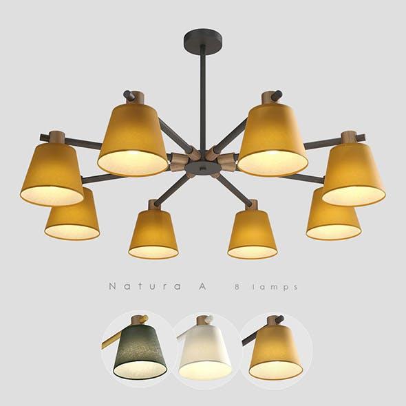 Lampatron Natura A 8 lamps