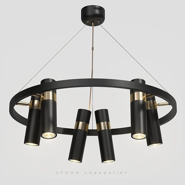 Lampatron Spoor 6 lamps