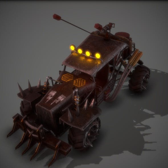 Apocalyptic Battle Buggy 01