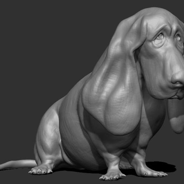Dog Sculpt