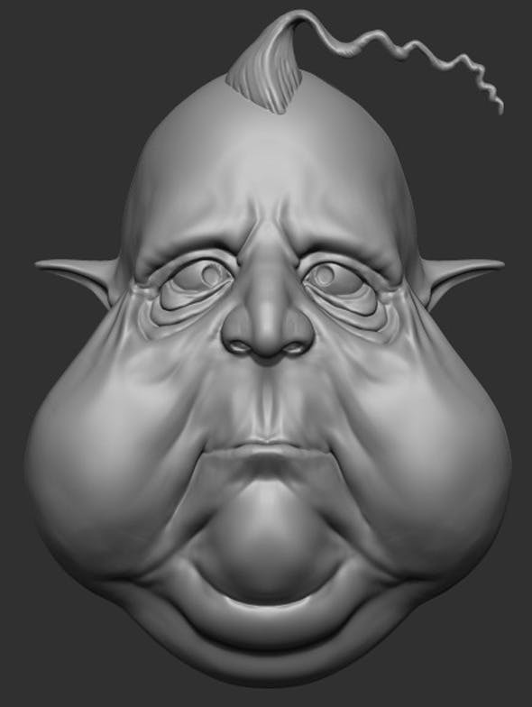Fatty Guy Sculpt - 3DOcean Item for Sale