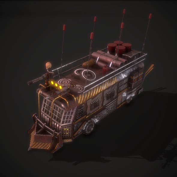 Post Apocalyptic Bus