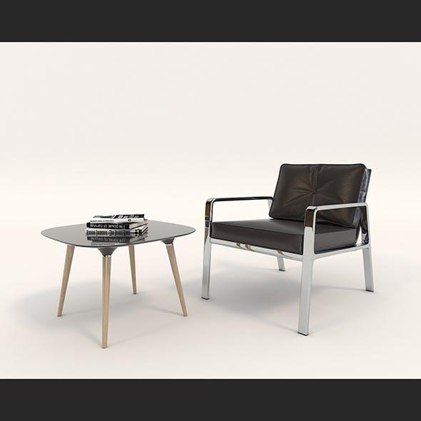 Contemporary Design Armchair Set 4