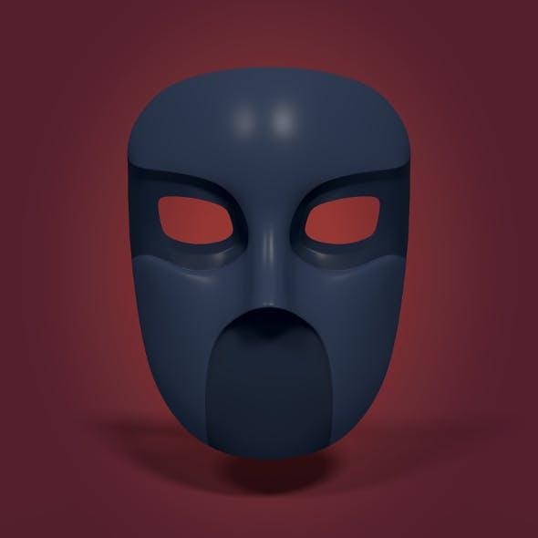 Gang Mask - 3DOcean Item for Sale
