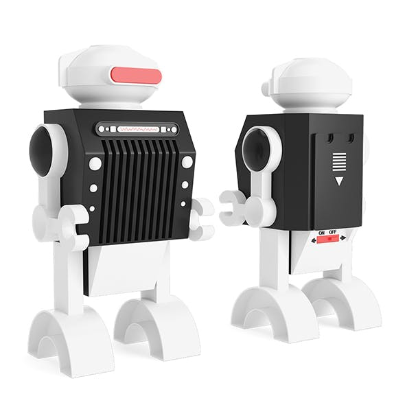 Robot Toy - 3DOcean Item for Sale