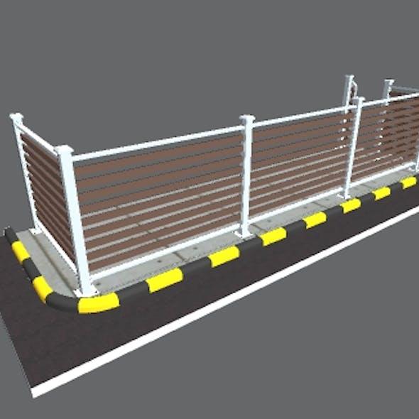 Iron Fence House