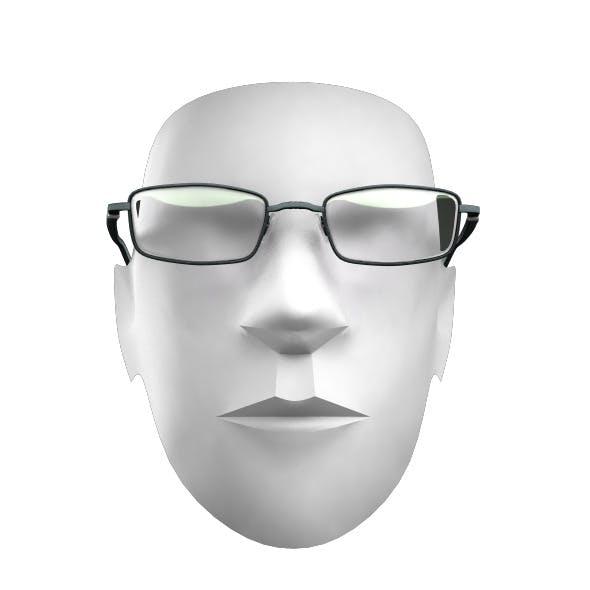 Black Optics Glasses  - 3DOcean Item for Sale