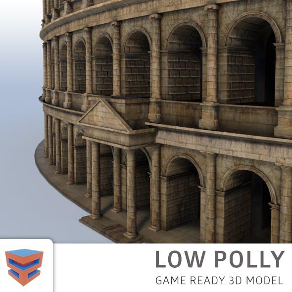 Coliseum low polly