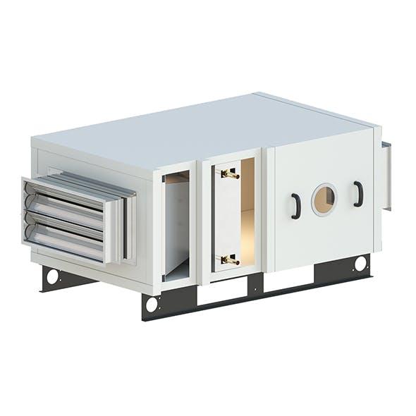 Industrial ventilation system - 3DOcean Item for Sale