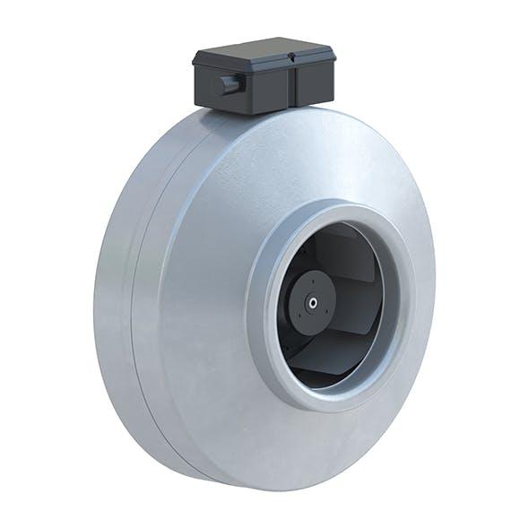 Industrial fan round - 3DOcean Item for Sale