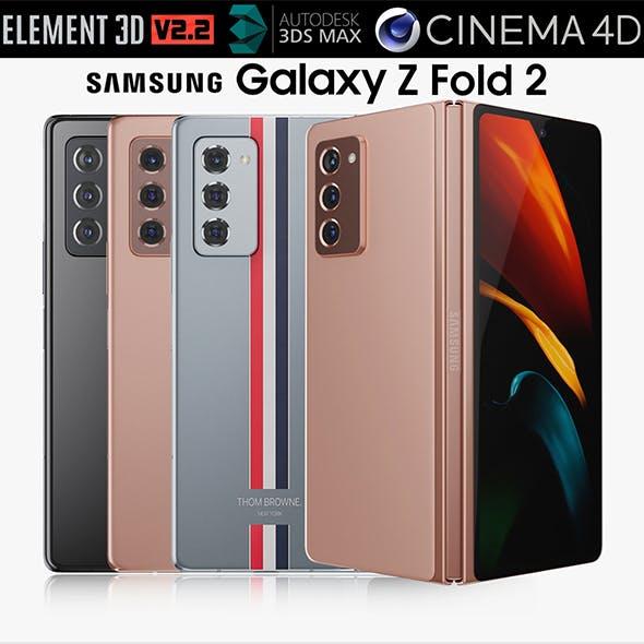 Samsung Galaxy Z Fold 2 all colors
