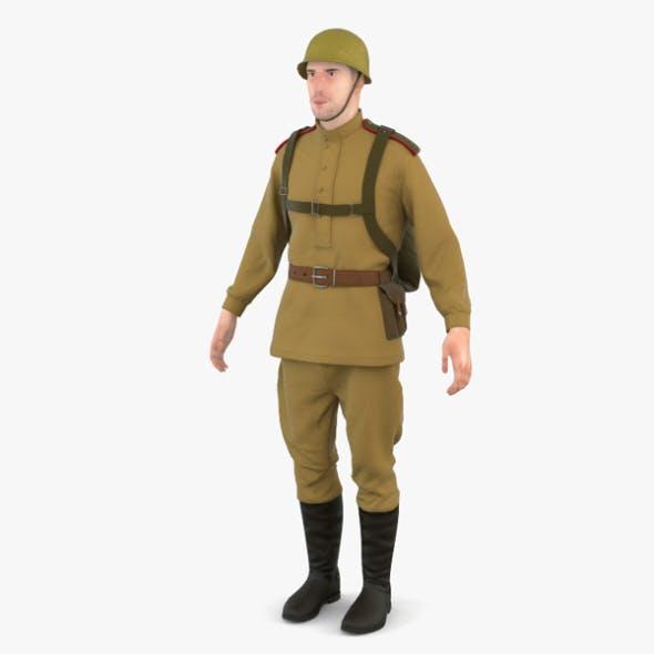 WW2 Soviet Soldier