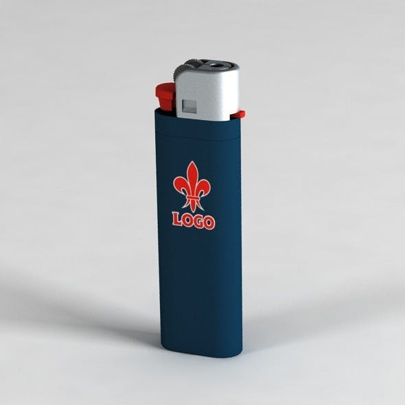 Lighter with UV Mapping