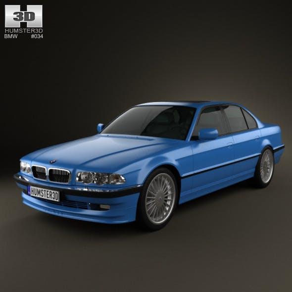 BMW 7 Series B12 Alpina 1999  - 3DOcean Item for Sale