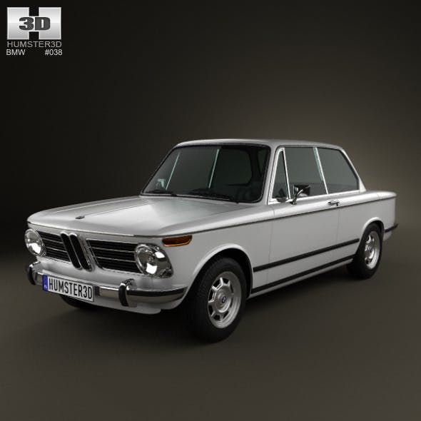 BMW 2002 1968  - 3DOcean Item for Sale