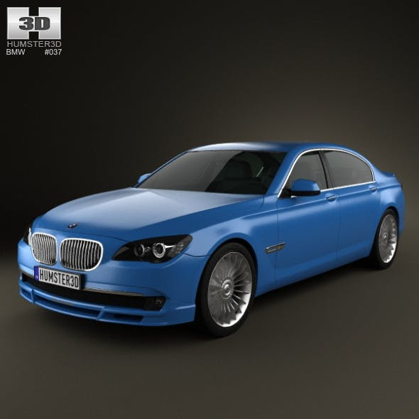 BMW 7 Series B7 Alpina 2011  - 3DOcean Item for Sale