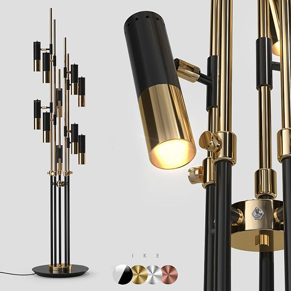 Delightfull IKE floor 10 lamps