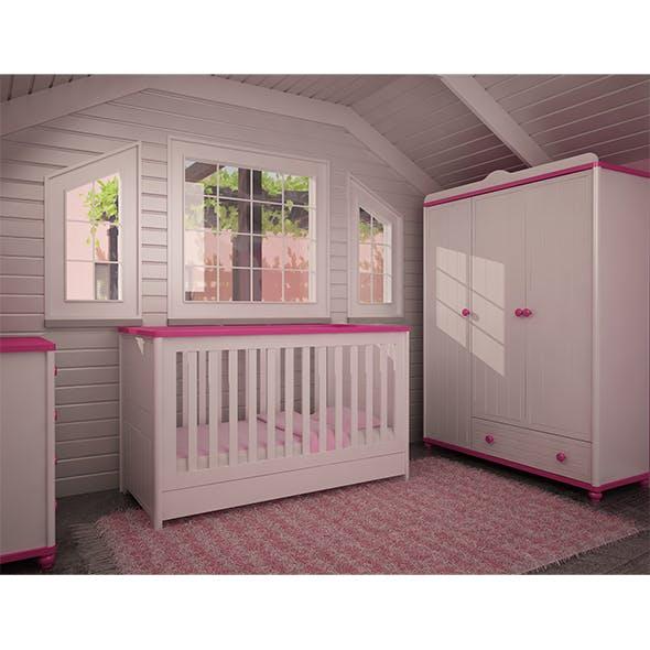 MOTHER BABY ROOM furniture - 3DOcean Item for Sale