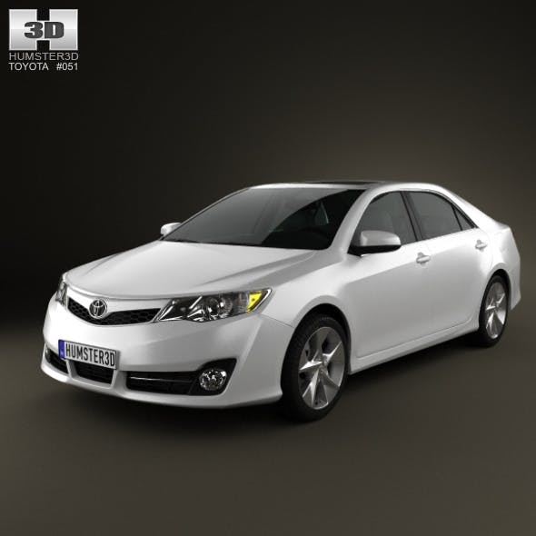 Toyota Camry US SE 2012 - 3DOcean Item for Sale