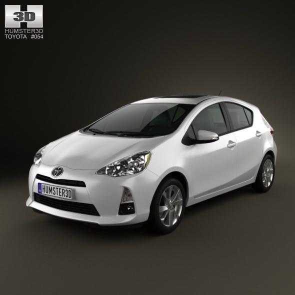 Toyota Prius C 2012 - 3DOcean Item for Sale