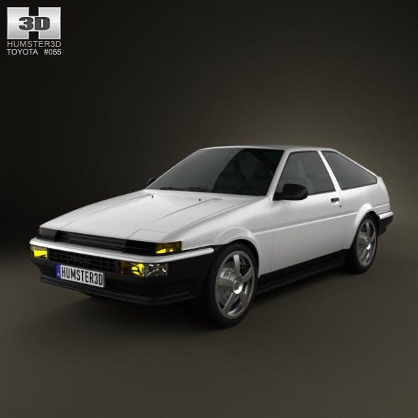 Toyota Sprinter Trueno AE86 3-door 1985 - 3DOcean Item for Sale