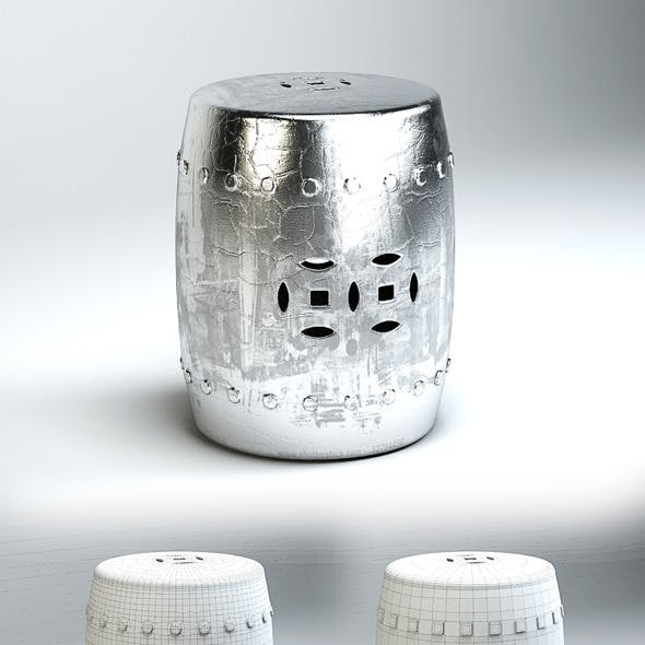 Quality 3dmodel of barrel