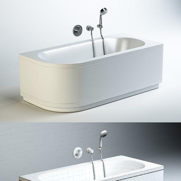 Quality 3dmodel of bath Bettestarlet V Comfort