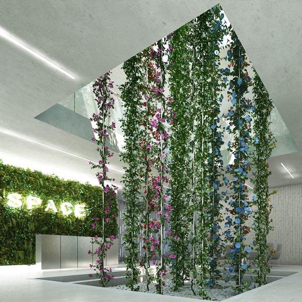 Vertical Garden 6 - 3DOcean Item for Sale