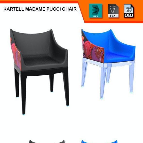 Kartell Madame Pucci Chair Model
