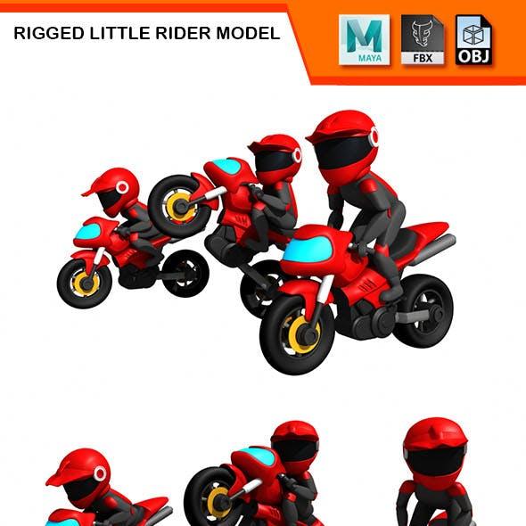 Rigged Little Rider Model