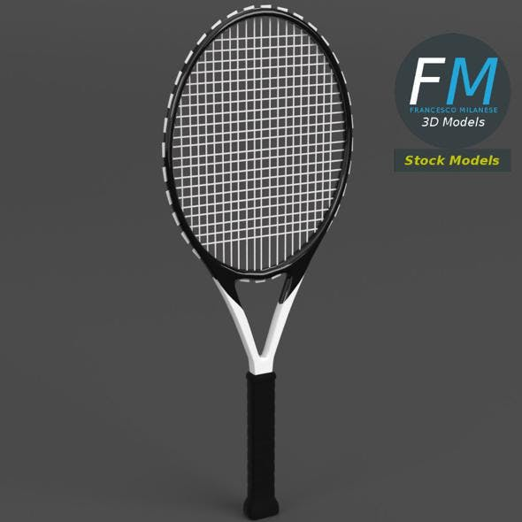 Tennis racket 2 - 3DOcean Item for Sale