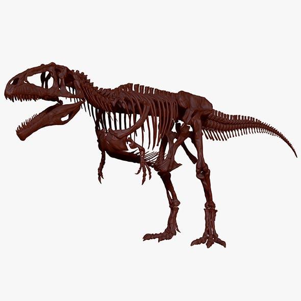 Giganotosaururs Full Skeletons Sculpt Project - 3DOcean Item for Sale