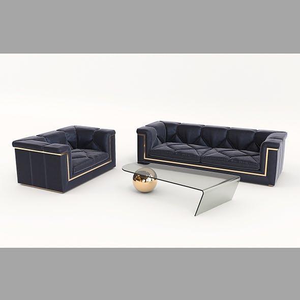 Contemporary Design Armchair Set 6
