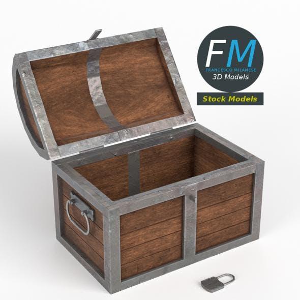 Treasure chest - 3DOcean Item for Sale