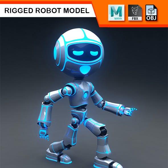 Full Rigged Robot Model