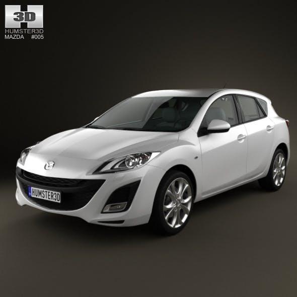 Mazda 3 hatchback 2011 - 3DOcean Item for Sale