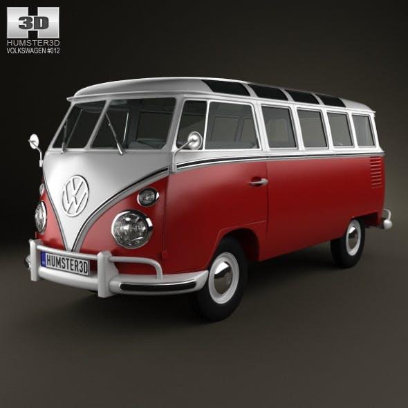 Volkswagen Transporter T1 1950 - 3DOcean Item for Sale